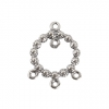 SS.925 Pendant Ball Ring 3+1 Loops 15mm